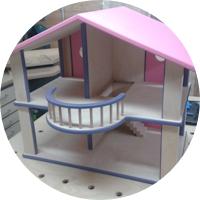 Puppenhaus – Die Endmontage