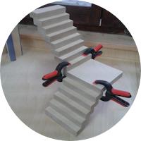 Puppenhaus – Die Treppe