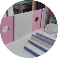 Puppenhaus – Die Wände