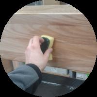 Hochbett – Die Oberflächenbehandlung