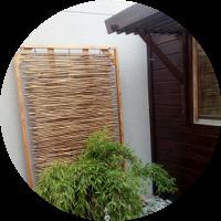 Bambusdekoration