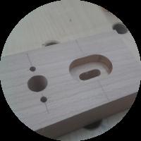 Schreibtisch – Die Holme