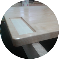 Schreibtisch – Die Tischplatte