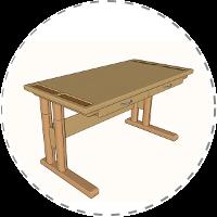 Schreibtisch – Die Projektidee