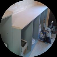 Werkstatt – Die Werkbänke