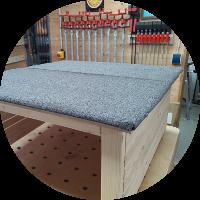 Robotergarage – Das Dach