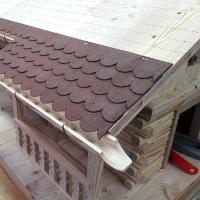 Vogelvillen – Das Dach